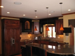 audio/video systems In-ceiling kitchen speakers